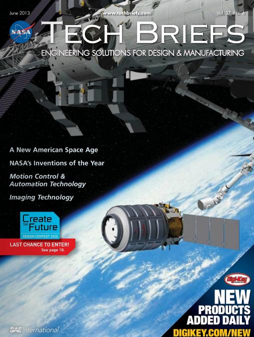 Read NASA Tech Brief Magazine JUNE 2013 Free online ...