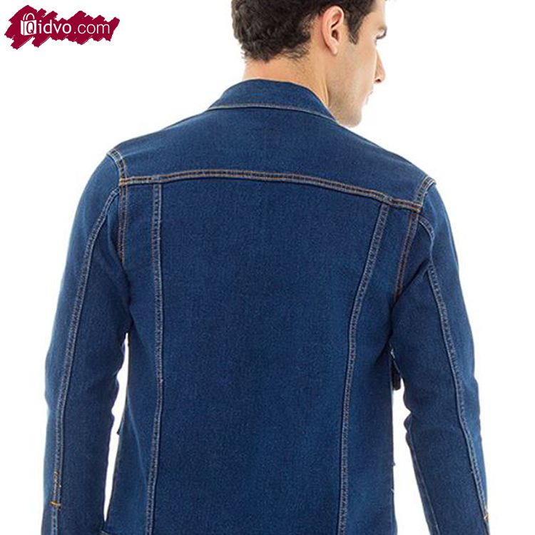 Jaket Jeans Mens Republic Indiana - Dark Blue