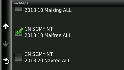 Move the map files from Garmin Nuvi 2565LM internal storage