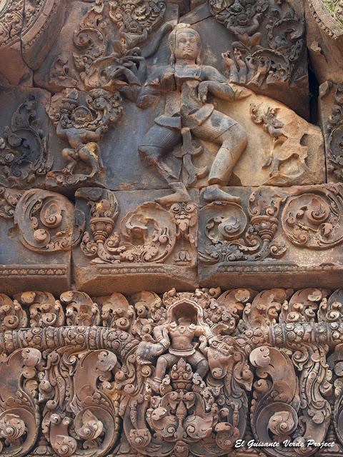 Banteay Srei, Shiva Nataraja - Angkor, Camboya por El Guisante Verde Project