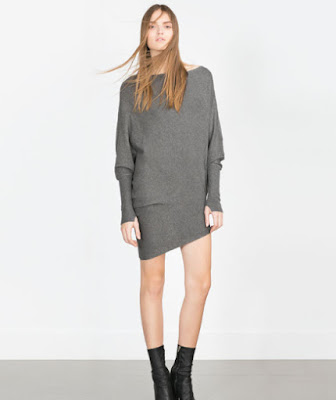 Zara Asymmetric Jumper