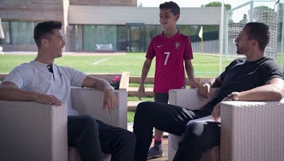 cr7 and son