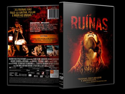 Capa DVD As Ruínas