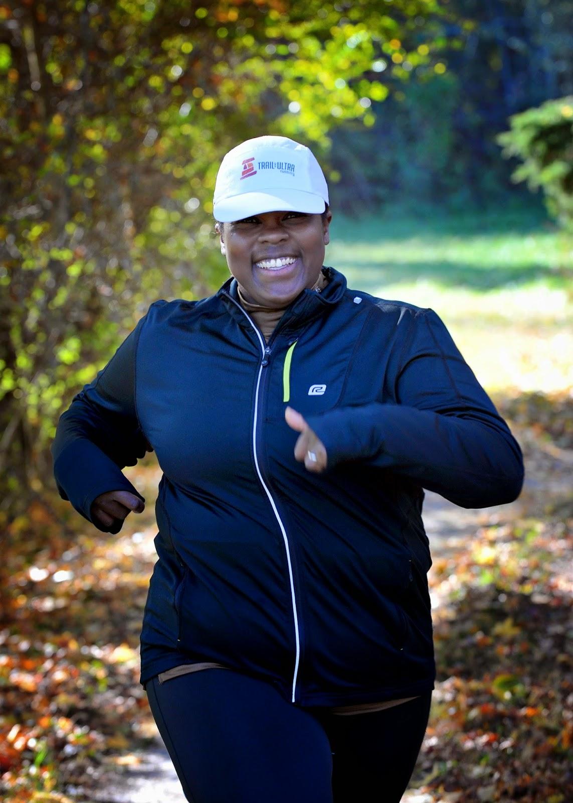 girl jogging Fat