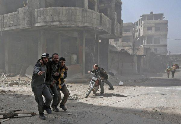 #Terrorism :International aid group says 78 people die fleeing last and small area  controlled by #IS fighters in East #Syria !