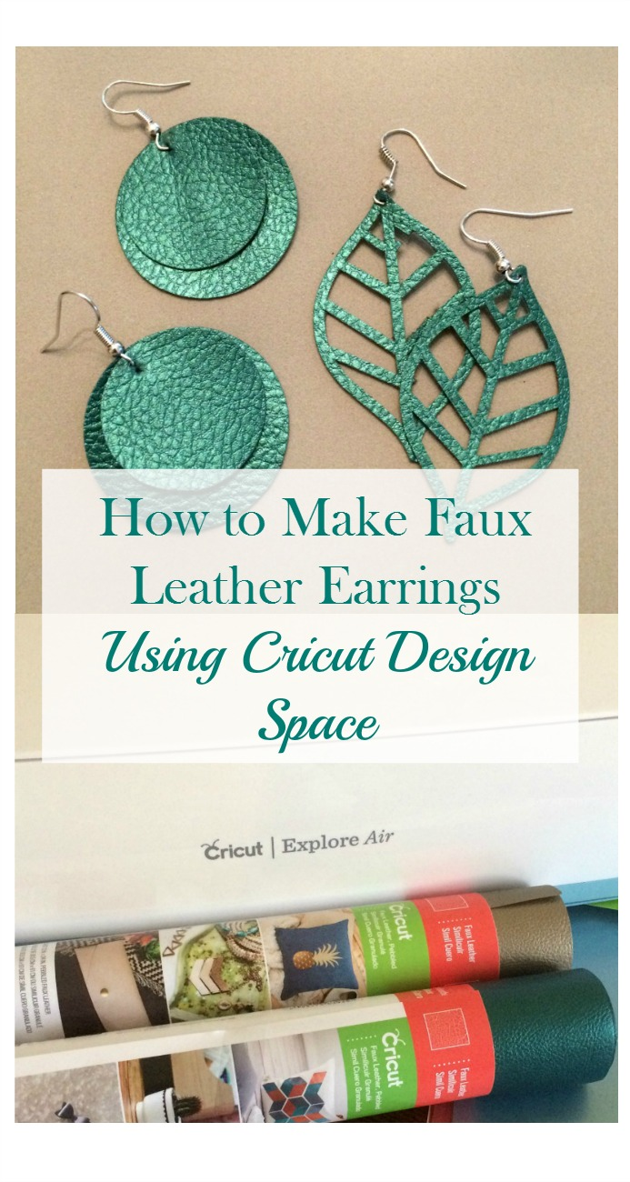 Real Girls Realm How to Make Faux Leather Earrings With