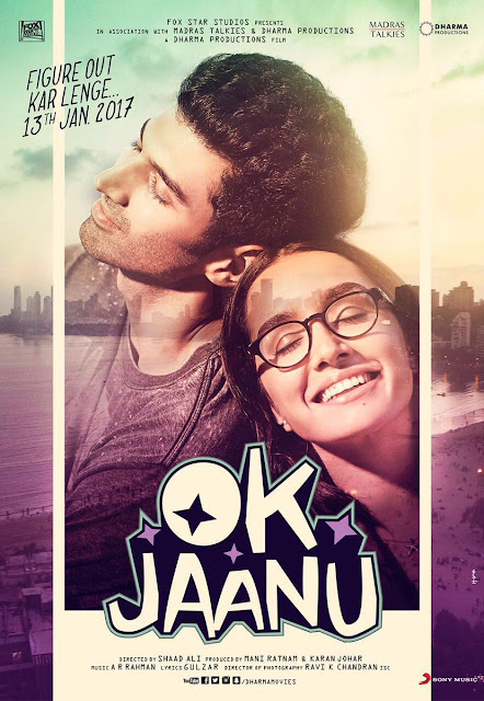 New Poster of Shraddha Kapoor's OK Jaanu Movie