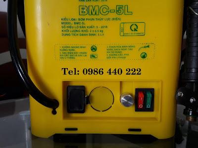 Bình phun BMC 5 lít