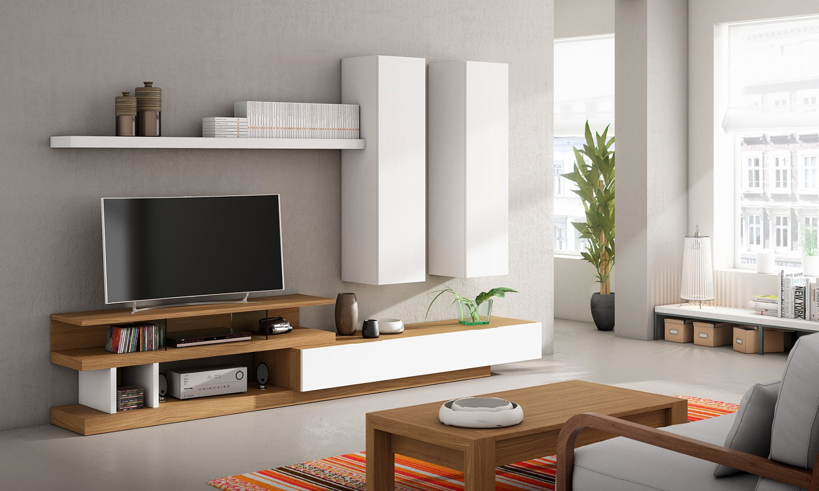 Armaris dormitoris salons taules mobles i fusteria jes s - Muebles de salon originales ...