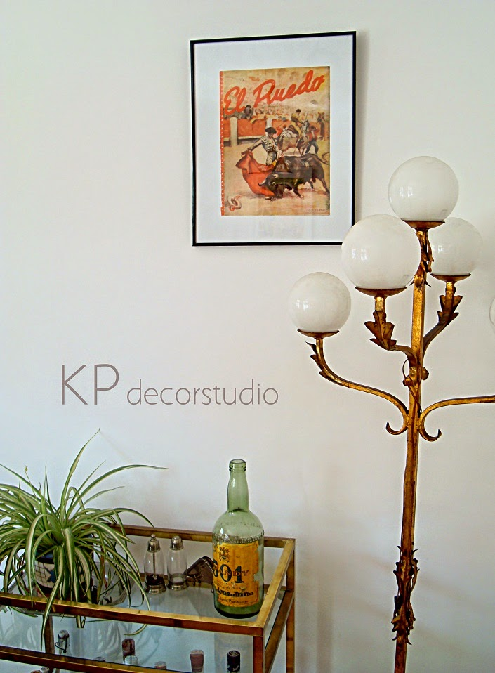 Decoración vintage. Últimas tendencias. Posters antiguos y láminas vintage para decorar.