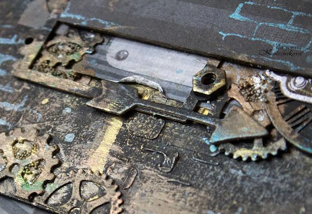 @Evgeniia Kolesnikova #scrap #scrapbooking #alter #altered skrap