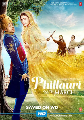 Phillauri (Saved on WD) poster