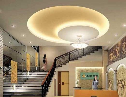 Step by step to make false ceiling design with lighting 2019 - Lights used in false ceiling ...