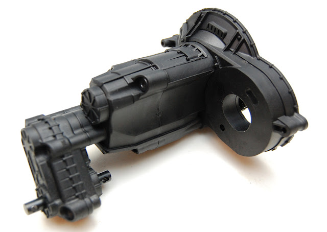 Axial SCX10 II transmission and transfer case