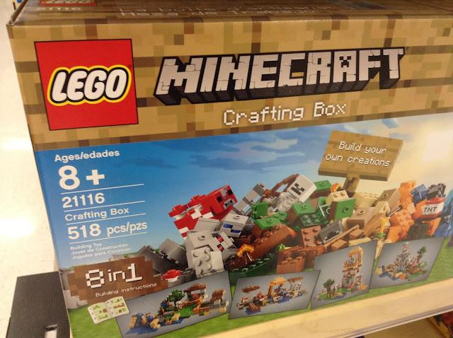 ladrillos de juguete minecraft