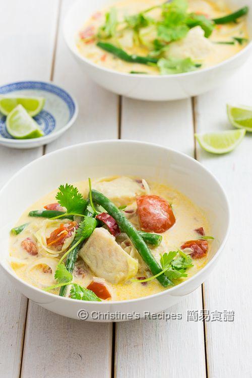 椰汁煮魚 Fish in Coconut Soup03