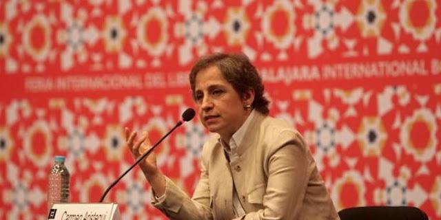 Es una vergüenza tener periodistas como Esteban Arce: Carmen Aristegui