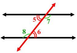 Geometry Alternate Interior Angles Online Math Homework Help