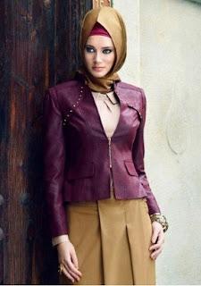 Model Blazer Wanita Muslimah Modern Untuk Kerja Dan Santai