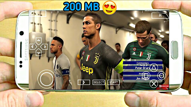 PES 2019 Android Offline 200Mb With Commentary Best Graphics Real Faces