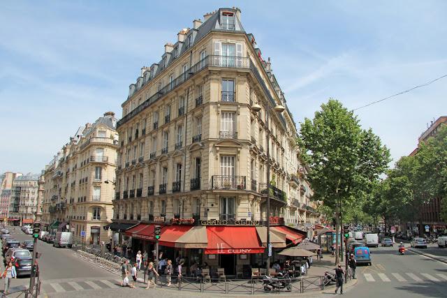 Caminhada no Boulevard St Germain em Paris
