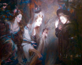 From The Three Witches from Macbeth by Daniel Gardner (1775)