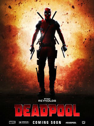 Filme Poster Deadpool HDRip XviD & RMVB Legendado