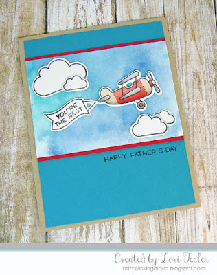 You're the Best card-designed by Lori Tecler/Inking Aloud-stamps and dies from Lawn Fawn