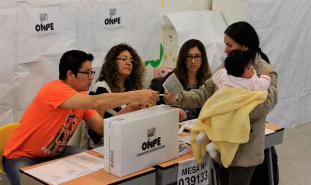 Consultar o verficiar si soy miembro de MESA -  Elecciones para Presidente Perú 2016