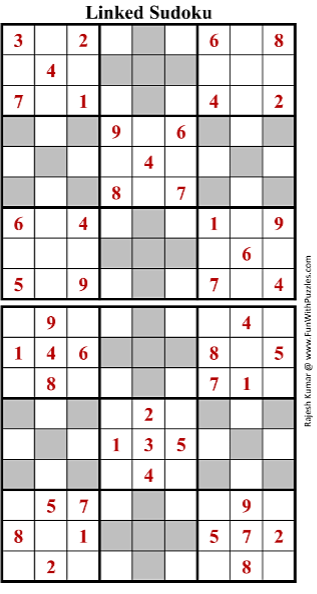 Linked Sudoku (Fun With Sudoku #160)