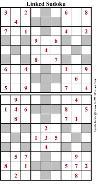 Linked Sudoku (Fun With Sudoku #160)