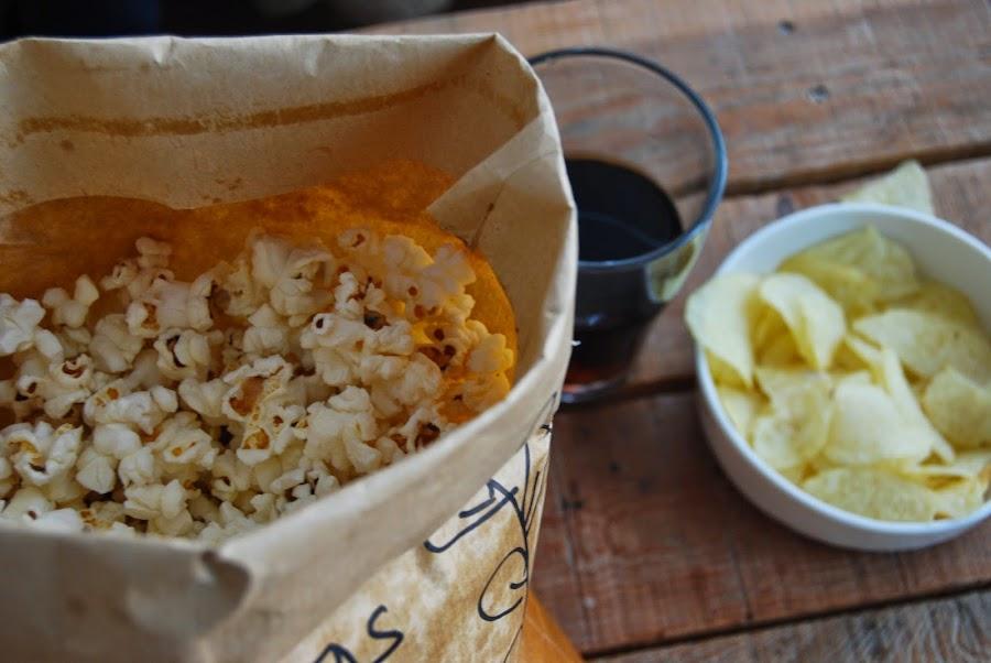 Palomitas caseras en el microondas en tres minutos