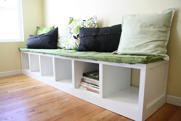 DIY Banquette Bench Seating with Storage