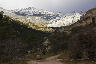 Torres de la Pedriza Posterior en Invierno Manzanares el Real