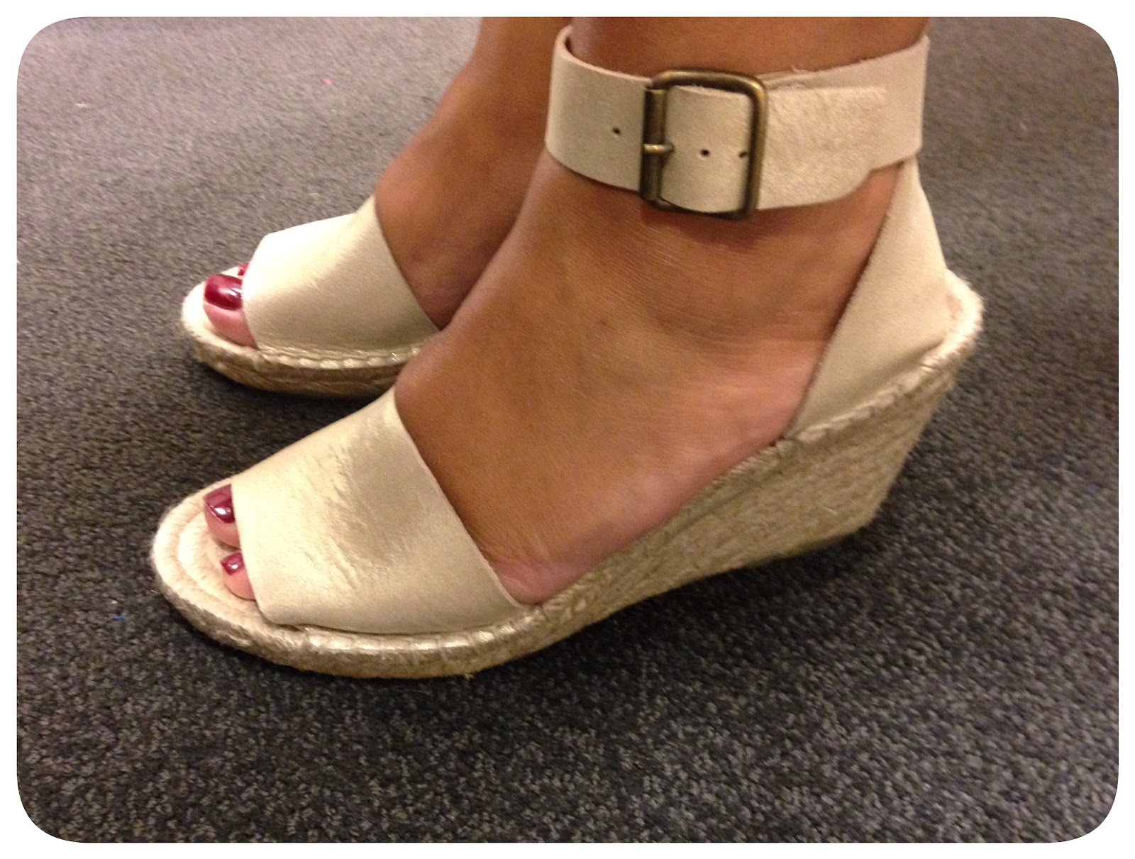55dd9e0a518a Shoes-day  Corsica Metallic Suede Espadrille – Life is Short…Buy the ...