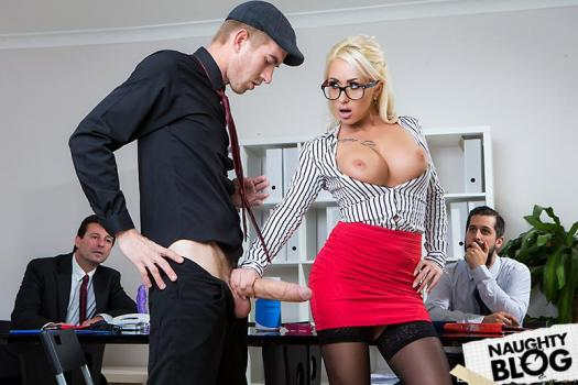 Big Tits At Work – Christina Shine: Sales Pitch