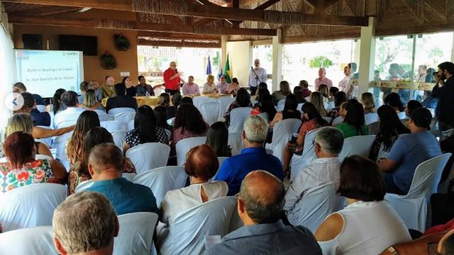 Solenidade de abertura do Polo da UPE em Cupira-PE