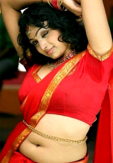 Waheeda Belly Chain Navel Show South Indian Navels
