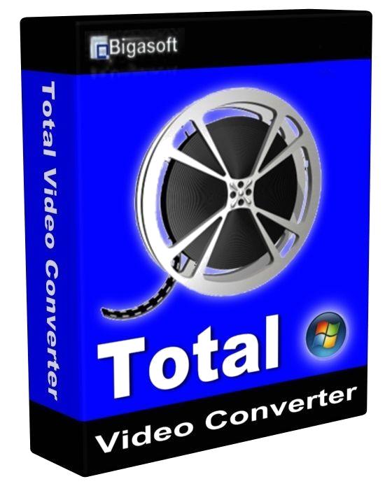 Bigasoft Total Video Converter PC Cover Caratula