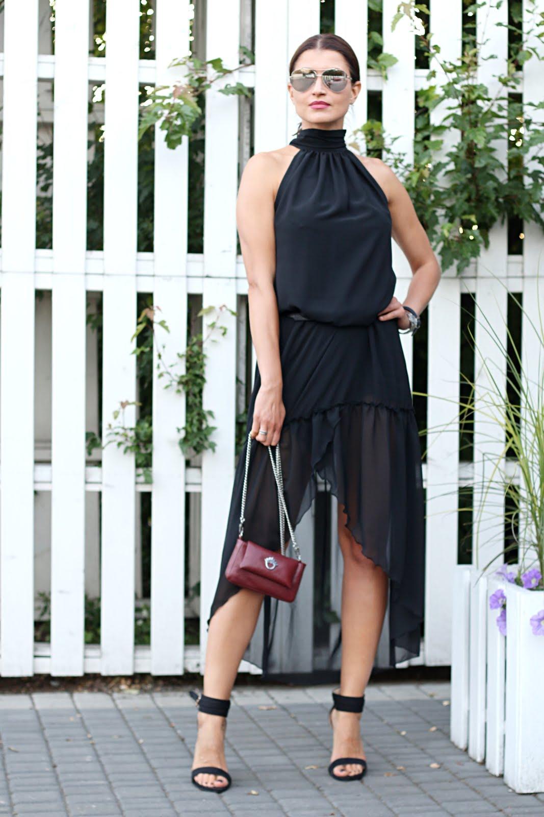 2436ae07d839c class, elegancko, lato, letnia sukienka, letnie trendy, mała czarna, must