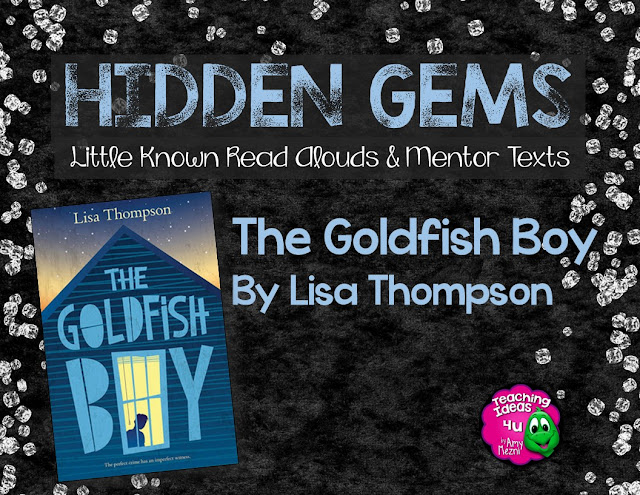 Have you heard of the book, The Goldfish Boy? It is Lisa Thompson's first novel and it is a winner. This is an excellent addition to a classroom library, most suitable for grades 4 - 6. The strength of this story, is its character development, and students will really want to find out what happens to both the main character and supporting character.