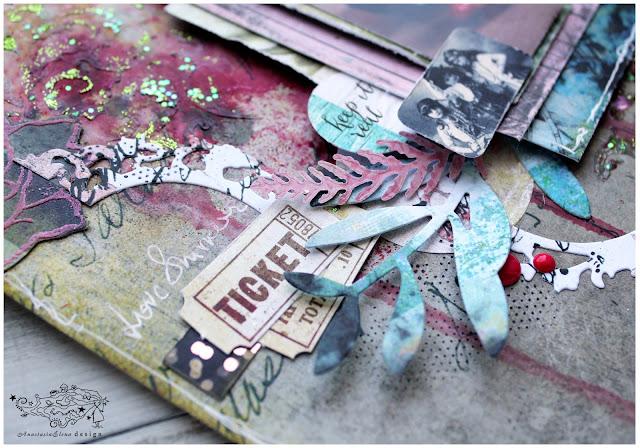 @nastyalena #layout # scrapbooking #mixedmedia