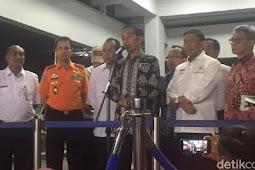 Temui Keluarga Korban Lion JT 610, Jokowi: Saya Ikut Berduka