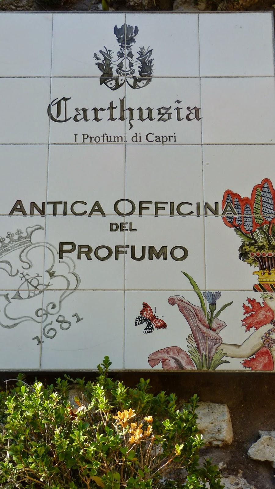 Perfume de Capri