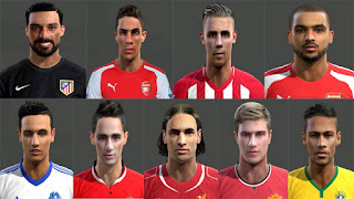 [PES2013] Facepack[03] 2016 Pes 2013 by Magicpro
