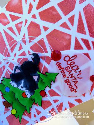 Dear Santa Card | Featuring Newton's Nook Designs | Created by Danielle Pandeline
