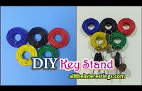 Interesting Key Stand | Innovative & Creative product key-holder, diy key stand