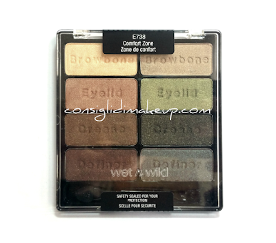 Review: Comfort Zone Palette - Wet 'n Wild