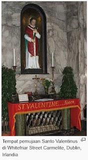 sejarah valentine day menurut kristen