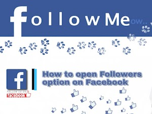 Facebook Followers Option Activate Kaise Kare